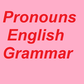 Pronouns English Grammar icon