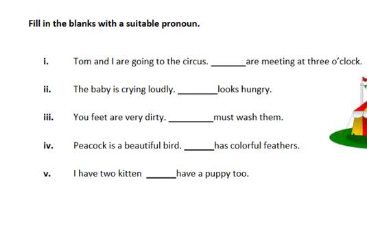 Pronouns English Grammar apk screenshot