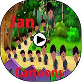 App For  Jann Cartoons Tv icon