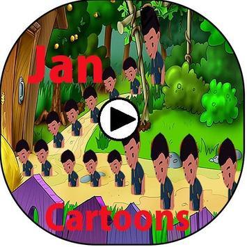 App For  Jann Cartoons Tv screenshot 1