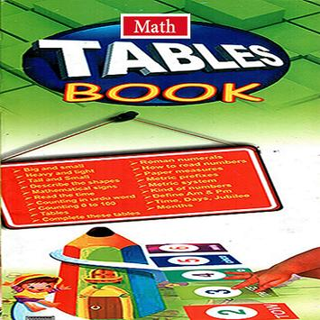 Math Tables Book poster