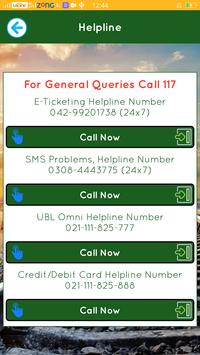 Pakistan Railways Official apk screenshot