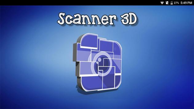 Scanner 3D poster