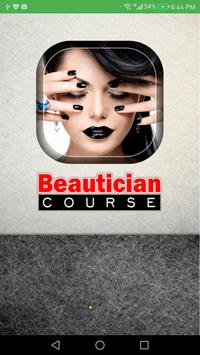 Beautician Course poster