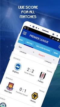 Football Live Score  2018/2019 screenshot 4