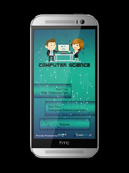 Computer & Coding Learning App poster