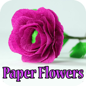 Handmade paper flower making for android apk download handmade paper flower making mightylinksfo