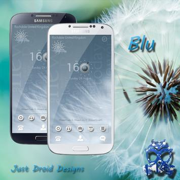 Blu Theme for Zooper Widget apk screenshot