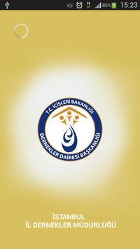 İstanbul Dernekler Müdürlüğü poster