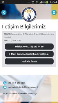 İstanbul Dernekler Müdürlüğü apk screenshot