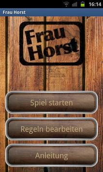 Frau Horst - Kartenspiel poster