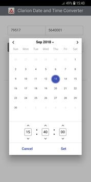 Clarion Date and Time Converter screenshot 2