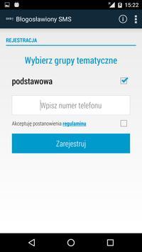 Błogosławiony SMS screenshot 1