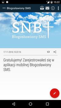 Błogosławiony SMS screenshot 3