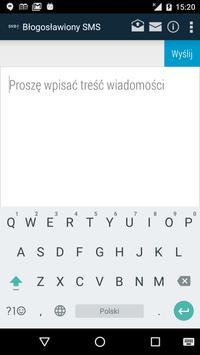 Błogosławiony SMS screenshot 5