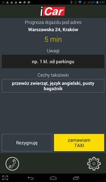 iCar Taxi Kraków 12 653 55 55 apk screenshot