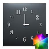 Just Font - Clock Widget icon