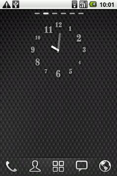 Just Font - Clock Widget poster