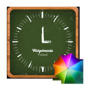 Shoolboard clock widget icon
