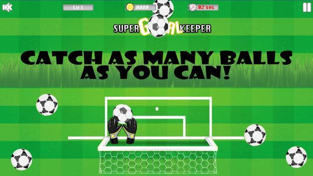 Super Goalkeeper poster