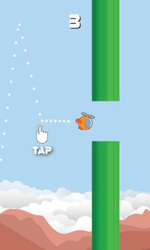 Copter based on flappy poster