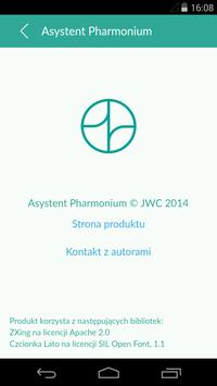 Asystent Pharmonium apk screenshot