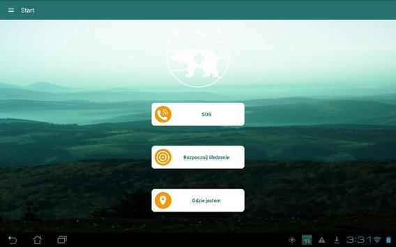 Pomoc w Górach apk screenshot