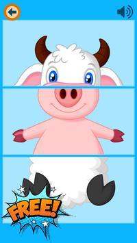 Three Pieces - Kids Match ZOO apk screenshot