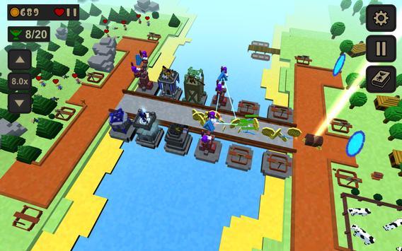 Voxel Defense apk screenshot