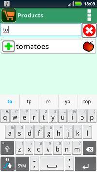 Shop List (CHR) screenshot 1