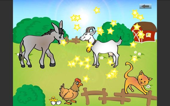 Tap animals for kids screenshot 2