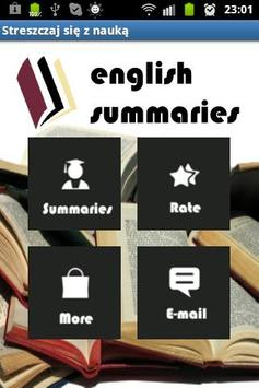 Books Summaries poster
