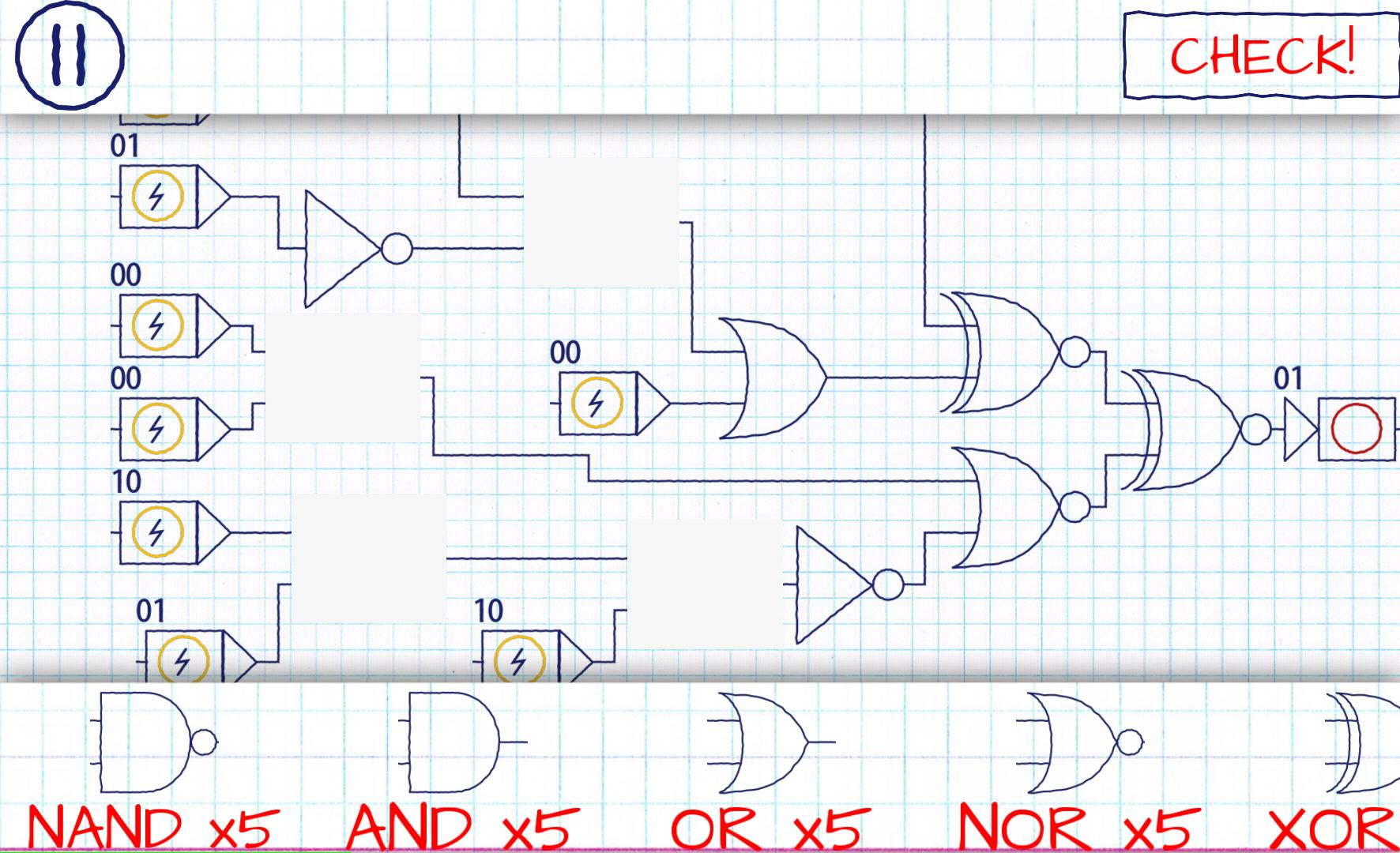 And Or Nand Nor Xor Xnor logic gates for android - apk download
