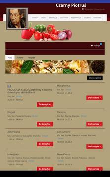 Pizzeria Czarny Piotruś screenshot 2