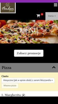 Ambar Pizza poster