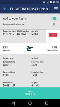 Kraków Airport apk screenshot