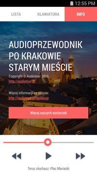 Audioprzewodnik - Kraków Rynek apk screenshot