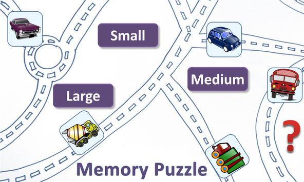 Memory Puzzle, Two Player Game poster