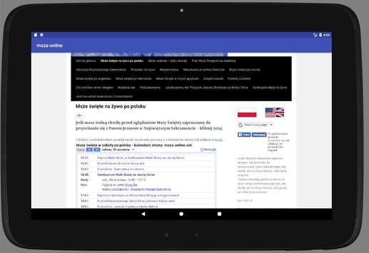 Msza online screenshot 3