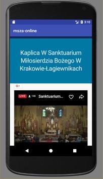 Msza online screenshot 1