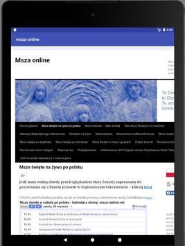 Msza online screenshot 5