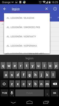 Rozkład jazdy Łomża screenshot 1