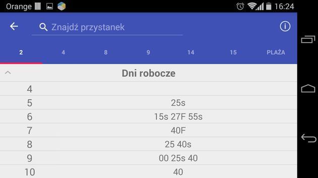 Rozkład jazdy Łomża screenshot 2