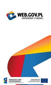 WEB.GOV.PL Wspieramy e-Biznes poster