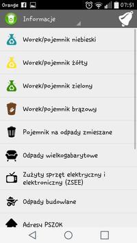 Wywozik ZMGK apk screenshot