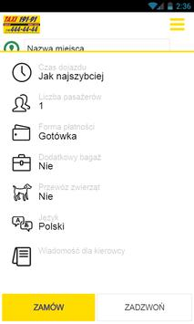 Taxi Nowy Sącz apk screenshot