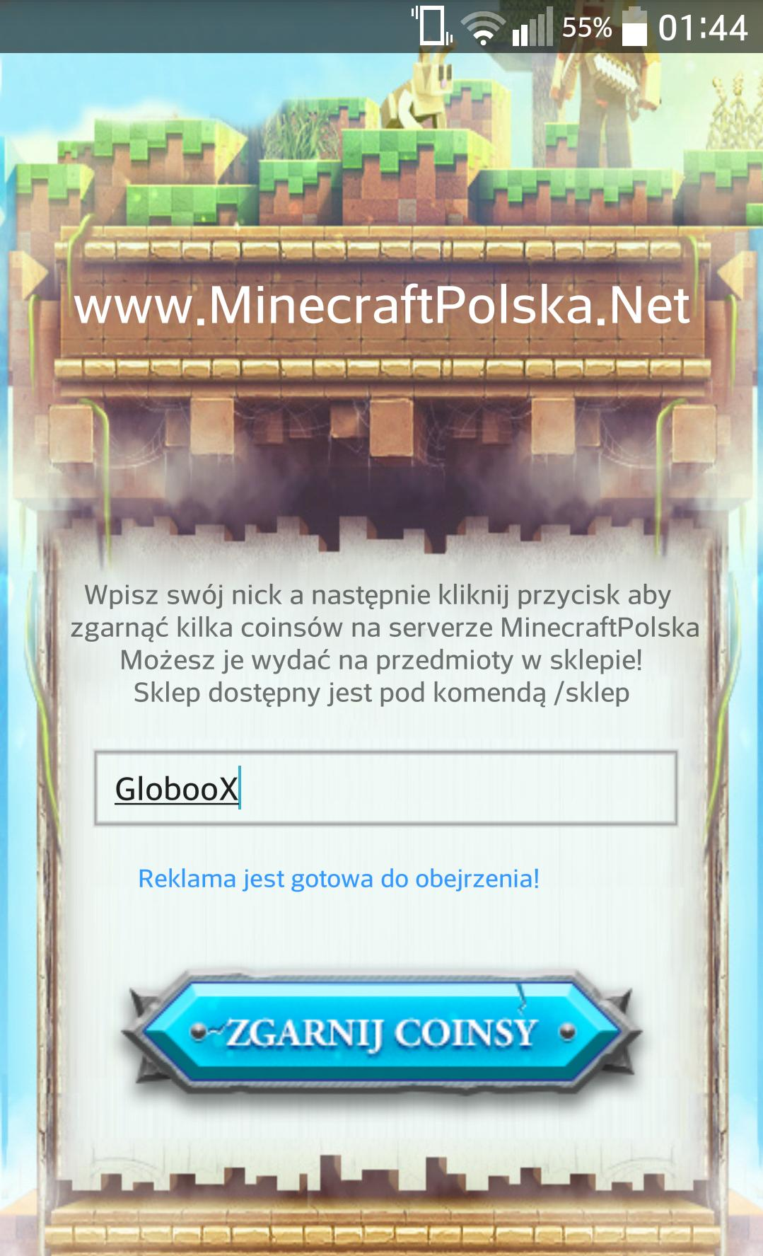 MinecraftPolska Darmowe Coinsy for Android - APK Download