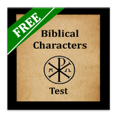 Bible Characters Test icon