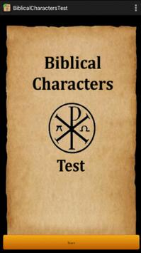 Bible Characters Test poster
