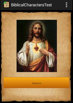 Bible Characters Test screenshot 1